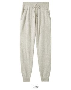 Cashmere trackies