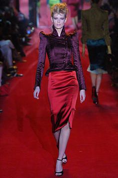 Saint Laurent Fall 2004 Ready-to-Wear - Collection - Gallery - Style.com