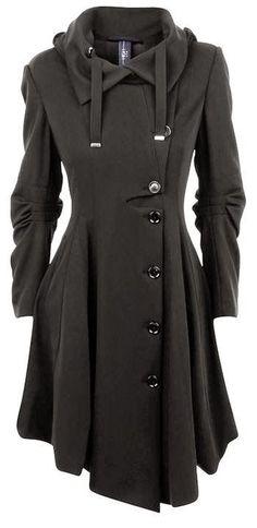 Winter Black Fashion