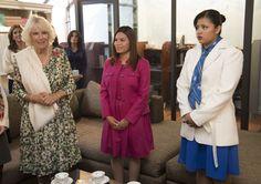 Camilla, Duchess of Cornwall - The Duchess of Cornwall visits the Fundacion Camino A Casa, a human trafficking shelter, Mexico City, 03.11.2014