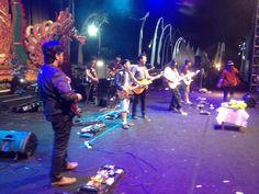day 2nd #SanurVillageFestival2015 #Sanfest2015 performance by  Bali guitars Club & Hut ke 8 BGC