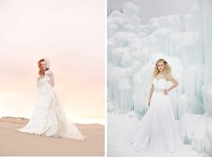 So cool- fire and ice Bridals --  Utah wedding photography, jaquelynn photography, rebekah westover photography