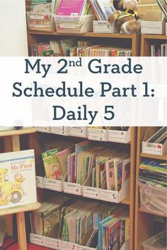 A Day in the Life: My 2nd Grade Schedule Part 1