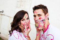 Paint War Engagement Pictures