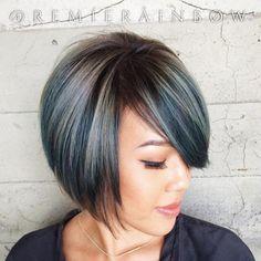 Hot trend: Denim hair, czyli... niebieskie włosy!