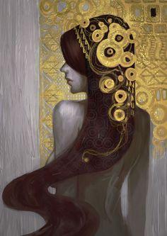 Klimt by aditya777.deviantart.com on @deviantART