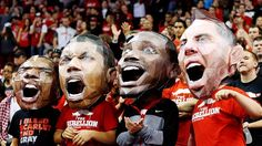 Welcome to the Rebellion - the official student section of UNLV's Runnin' Rebels.