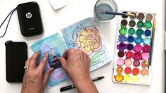 Video Tutorial: Art Journal Photo Page