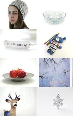 --Pinned with TreasuryPin.com #gifts, #Christmas, #winter, #white, #red, #blue, #art, #photographs, #kids, #rooms, #decor, #vintage, #serving, #festive, #snowflakes, #toys, #handmade