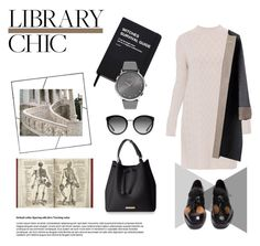 """""""Library Chic"""" by luxthrill ❤ liked on Polyvore featuring 'S MaxMara, Killstar, Prada, Dolce&Gabbana, BOSS Black, womensFashion and librarychic"""