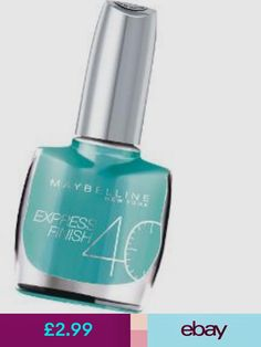 Maybelline New York Nail Polishes #ebay #Health & Beauty
