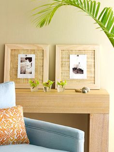 Summer Home Decorating--Go Tropical!