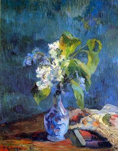 Paul GAUGUIN «Vase de fleurs»