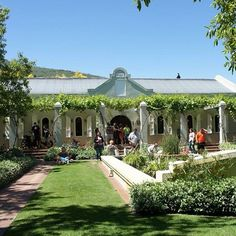 Our beautiful entrance Cape Dutch, South Africa, Entrance, Mansions, Country, Architecture, House Styles, Heart, Building