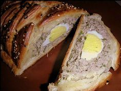 Meatloaf with eggs. Recipes with photos. stuffed with meat food Year dish tea guests recipe how to do manual work Meat Sauce Recipes, Onion Soup Recipes, Meat Recipes For Dinner, Loaf Recipes, Cooking Recipes, Cooking Kids, Easy Recipes, Russian Dishes, Russian Recipes