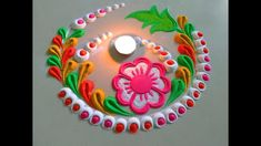Very very beautiful rangoli design by DEEPIKA PANT