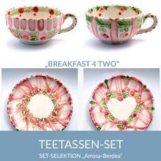 b42_teetassen_arrosaberdea_sel Natural Selection, Tea Cups, Simple Lines, Tablewares