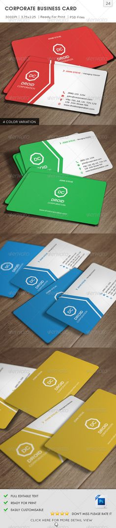 6,800+ Top Quality Business Card Template & Design   GraphicRiver