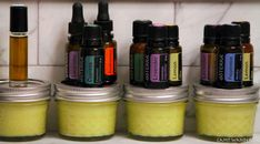 ..homemade  all purpose healing salve- add different essential oils to create blends..