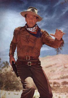 HONDO (1953) - John Wayne - Directed by John Farrow - Warner Bros. - Publicity Still.