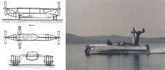 The Lantern (HC-4), built in 1953 by the Hydrofoil Corporation in USA ...