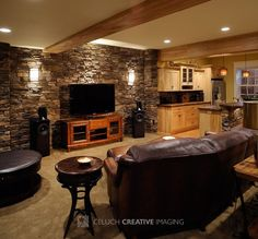 Image result for fake rock wall basement