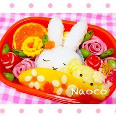 ねむねむミッフィーちゃん♡ の画像|Naocoのキャラ弁日記