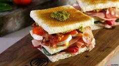 Receita de Sanduíche Club Italiana. Descubra como cozinhar Sanduíche Club Italiana de maneira prática e deliciosa!