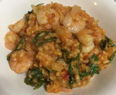 """Recipe Weight Watchers """"Oven-baked prawn risotto"""" by laurenlappin - Recipe of category Pasta & rice dishes"""