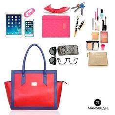 En tu bolso #Marrakesh podrás llevar todo lo que necesitas
