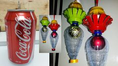 How to Make Christmas Lantern Using Soda Can & Other Recycled Materials Christmas Parol, Christmas Lanterns, Christmas Decorations, Xmas, Can Lanterns, Pop Cans, Moon Cake, Recycled Materials, Crafts For Kids