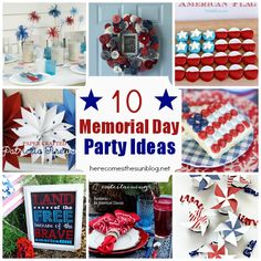 10 Memorial Day Party Ideas