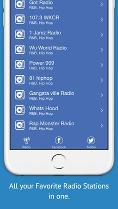 We Urban Radio is a fun app. It has all the urban stations you are familiar. But we have more entertainment for you. You will discover many new and exciting stations from around the world.