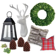 rustic decorating for christmas