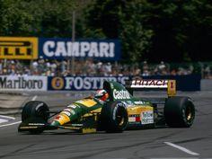 Johnny Herbert (Team Lotus), Lotus 107 - Ford HB 3.5 V8, 1992 Australian Grand Prix, Adelaide Street Circuit