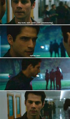 Teen Wolf 6x01 - Scott, where are you? Where are you right now? Who is this?