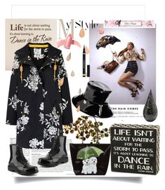 """rain"" by emina136 ❤ liked on Polyvore featuring C. Jeré, Dirty Laundry, Joules, August Hat, La Prairie, Harrods, Elizabeth Arden and Yves Saint Laurent"
