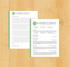 resume and cover letter set - Resume Cover Letters