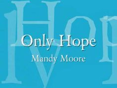 Only Hope w/lyrics --- Singer/actress Mandy Moore for the 2002 film A Walk to Remember (arranged and produced by the film's composer Mervyn Warren), written by Jon Foreman of Switchfoot. Sound Of Music Movie, Music Film, Music Love, My Music, Sing To Me, Me Me Me Song, The Bride Movie, Best Songs, Awesome Songs