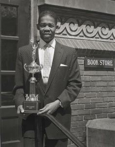 Charles Williams, Mr. Tommy Award Winner [1958]