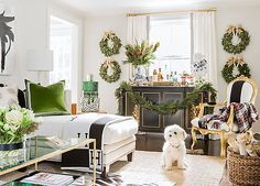 Ready to deck the halls? Designer Erin Gates sets a holiday scene that's rustic, elegant, and totally inspiring.