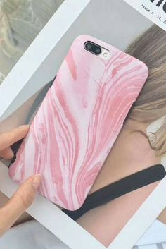 Pink Painting iPhone 6, iPhone 6 Plus, iPhone 7 & iPhone 7 Plus protective Case for cute girls