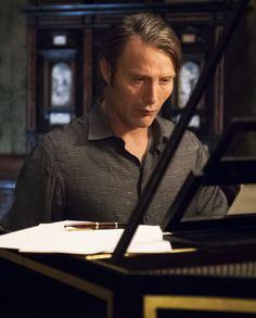 Mads Mikkelsen's version of Hannibal Lecter