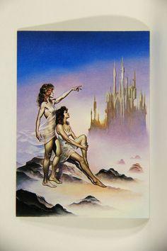 L011018 Boris Vallejo 1992 Card / Virgo - Card #21 / ARTWORK
