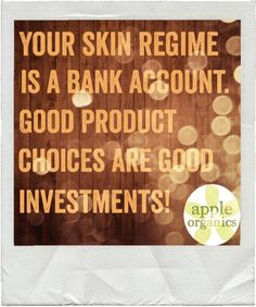 You use your products twice a day, which means what you are using is very important! Invest in the best all-natural, toxic-free products! Visit shop.appleorganicsllc.com today! #AnAppleADay #OrganicSkincare #AllNatural #Vegan #ToxicFree #CrueltyFree #Beauty #GreenBeauty #SkinCare #yeahTHATgreenville #SmallBatch #BeautifulSkinStartsHere #HaveABeautifulDay #AppleOrganics