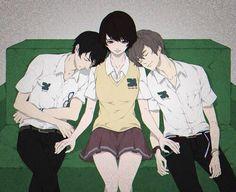 Immagine di zankyou no terror, anime, and nine