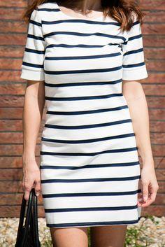 Prúžkované šaty - Tina Chic