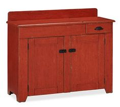 Alternative to typical buffet cabinet potterybarn