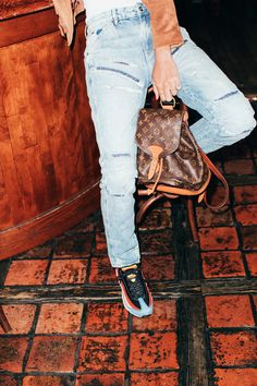 How Our Editors Are Wearing G-Star Raw Jeans to Fashion Week - Louis Vuitton | Coveteur.com