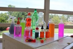 Squirt Sqeeze Spray...Pump Pour Press. Water fun that will keep children entertained for hours